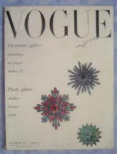 Vogue Magazine - 1950 - December